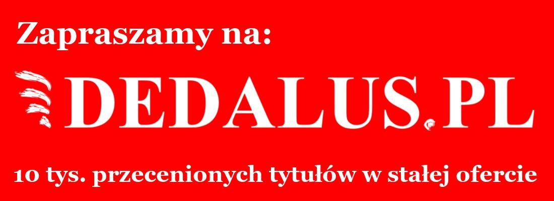 Dedalus.pl tania książka w internecie